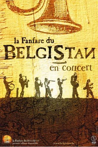 BELGISTAN - AFFICHE