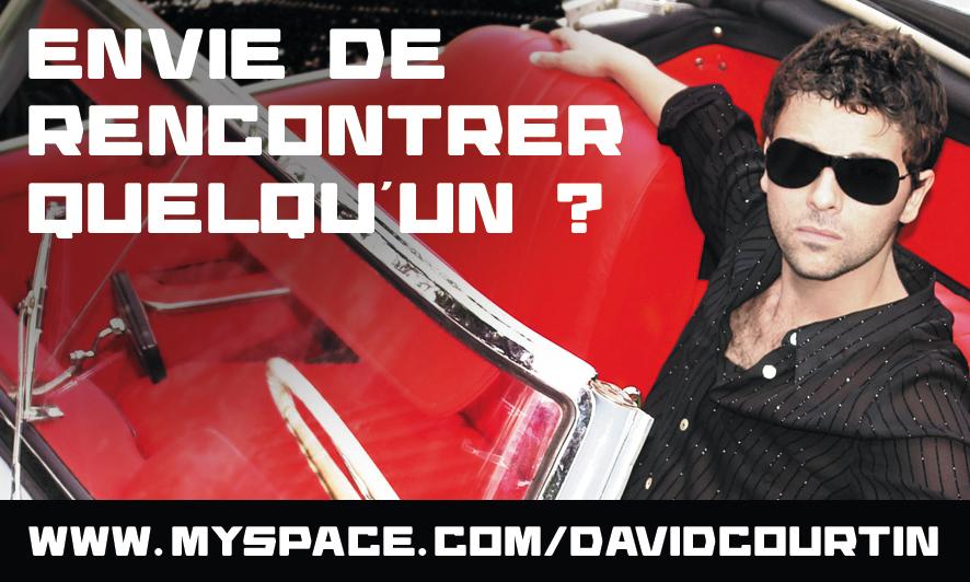 DAVID COURTIN - STICKER