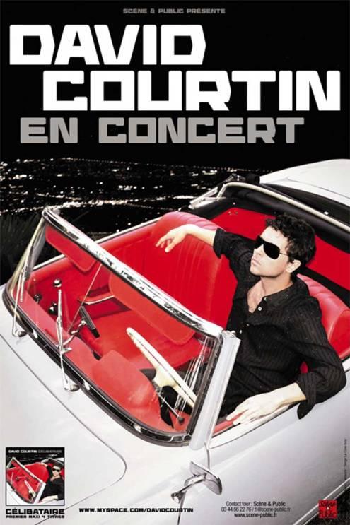 DAVID COURTIN - AFFICHE 40X60