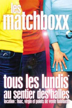 Flyer Les Matchboxx 2001