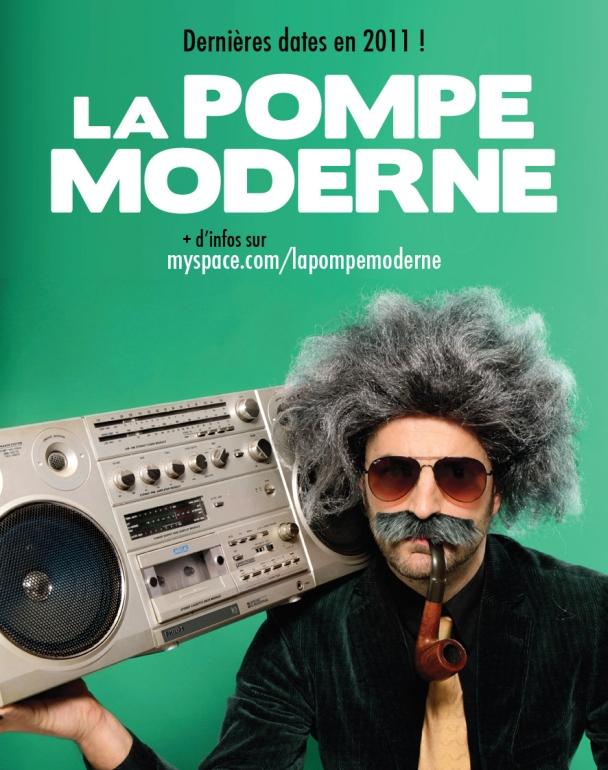 LA POMPE MODERNE - STICKER