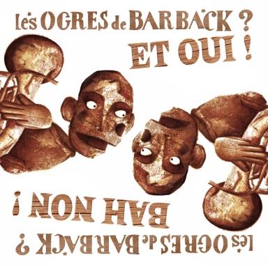 LES OGRES DE BARBACK - STICKER